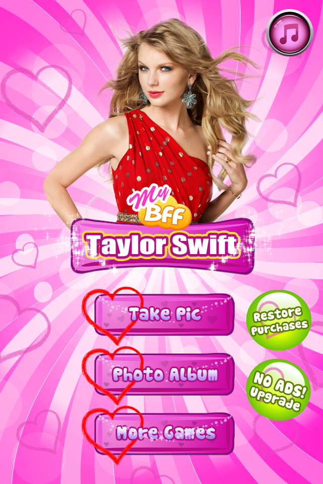 Screenshot Amazing! My BFF – Taylor Swift edition